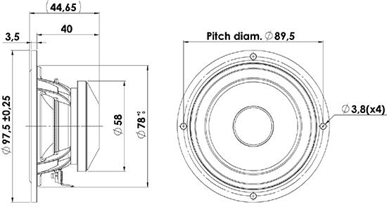 10f4424g00 dimensions