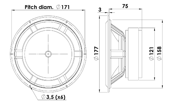 18w8545k00 dimensions