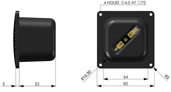 C25-6-013 dimensions