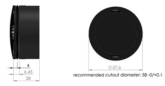 C25-6-158 dimensions