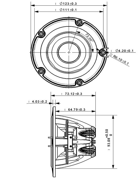 NE123W04 dimensions