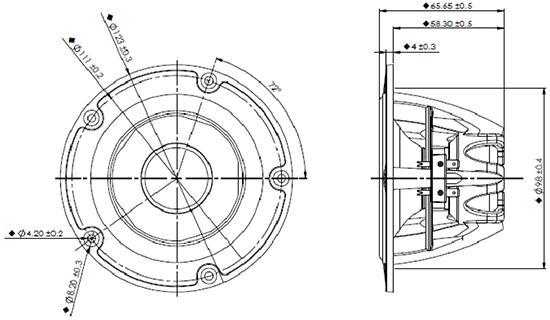 NE123W08 dimensions