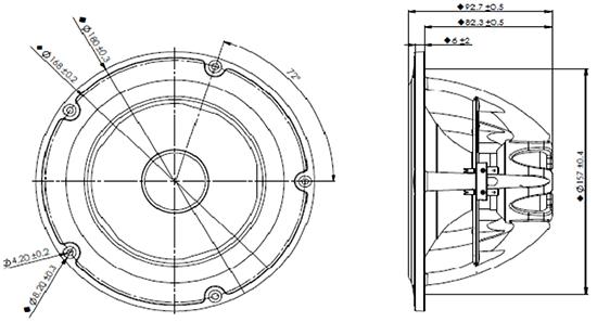 NE180W08 dimensions