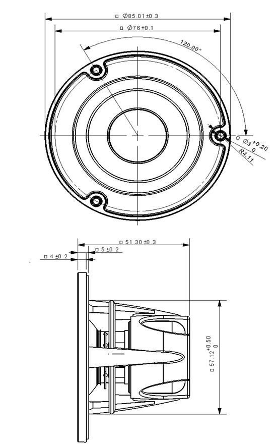 NE85W-04 dimensions