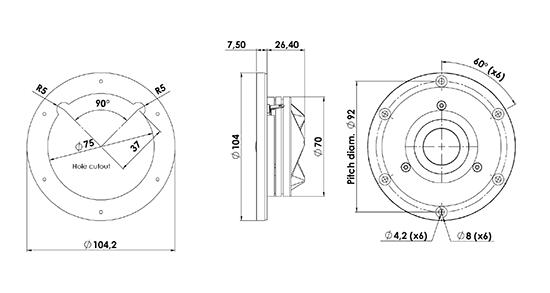 d2904-7100-02 dimensions